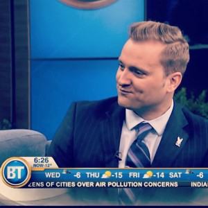 Dave on Breakfast Television Toronto